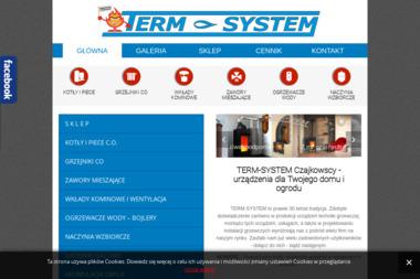 Term-System Nowoczesna Technika Grzewcza. Tomasz Czajkowski - Piece Gazowe Kondensacyjne Paczków
