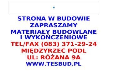 Przedsiębiorstwo Handlowo Usługowe Tesbud Tadeusz Stefaniak - Agencja marketingowa Międzyrzec Podlaski