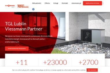 TGL Sp. z o.o. Salon Firmowy Viessmann, kotły, pompy ciepła - Kolektory słoneczne Lublin