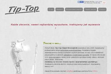 Paweł Bronowicki FHU Tip Top - Układanie Wykładzin Opole