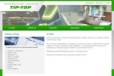 Tip Top Usługi Remontowo Budowlane - Schody metalowe Toruń