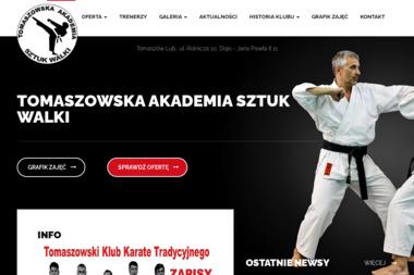 Tomaszowski Klub Karate Tradycyjnego - Joga Ashtanga Tomaszów Lubelski