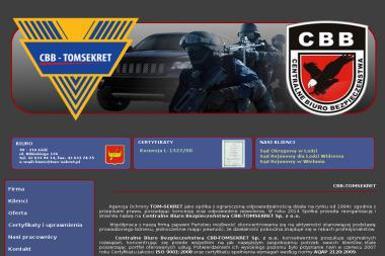 Agencja Ochrony Tom Sekret Sp. z o.o. - Agencja ochrony Łódź