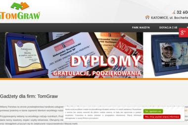 Firma Handlowo-Usługowa TomGraw Damian Tomanek - Druk wielkoformatowy Katowice