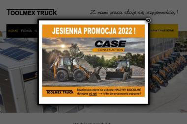 TOOLMEX TRUCK Sp. z o.o. Nowe i używane wózki widłowe, Części do wózków widłowych, Serwis wózków - Wózki widłowe Ożarów Mazowiecki