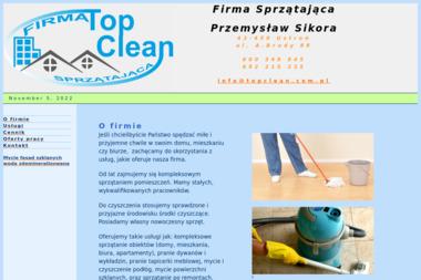 TopClean Sp. z o.o. - Pranie Kanapy Szczecin