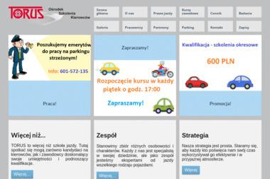 Torus. Ośrodek Szkolenia Kierowców - Kurs Prawa Jazdy Wałbrzych