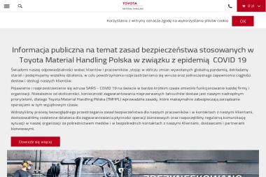 TOYOTA Material Handling Polska Sp. z o.o. - Wózki paletowe elektryczne Poznań