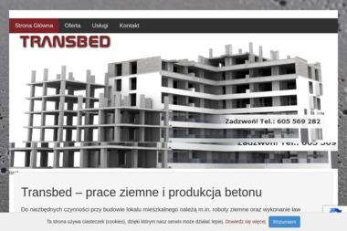 Firma Handlowo Usługowo Produkcyjna Transbed Stanisław Wcisło - Podjazd z Betonu Kościelec