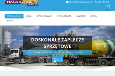 Przedsiębiorstwo Wielobranżowe Transdźwig Konieczna Zofia - Usługi Betoniarskie Tarnobrzeg