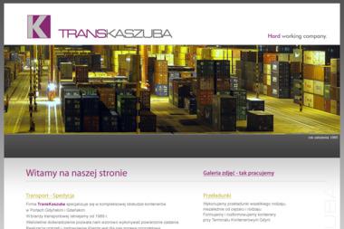 Zdzisław Kaszuba Trans Kaszuba - Transport ciężarowy krajowy Rumia