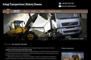 Usługi Transportowe, Roboty Ziemne. Transport materiałów i kruszyw, wykopy - Niwelacja Terenu Legionowo