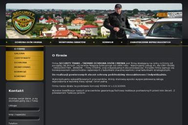 Security Trans Tadmar Ochrona Osób i Mienia Tadeusz Janecki - Agencja ochrony Rzepin