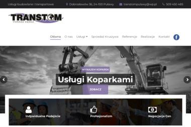 Tomasz Kęska Transtom - Materiały Budowlane Dobrosławów