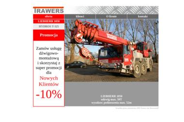 Trawers Jan Skowroński Zakład Usług Dźwigowo-Montażowych - Maszyny budowlane Skierniewice
