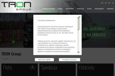 TRON Group Sp. z o.o. Sp. K. - Spedycja Międzynarodowa Kielce