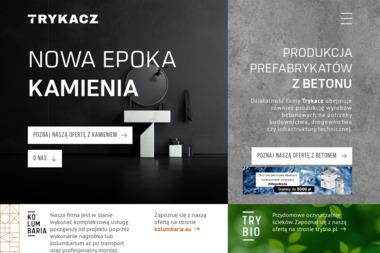 Zakład Wyrobów Betonowych i Prefabrykatów Budowlanych - Podjazd z Betonu Łucka