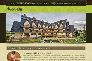 Ośrodek Wypoczynkowo-Rehabilitacyjny Maria - Gabinet Masażu Zakopane