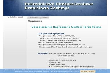 Pośrednictwo Ubezpieczeniowe Bronisława Zachmyc - Ubezpieczenia Gniezno