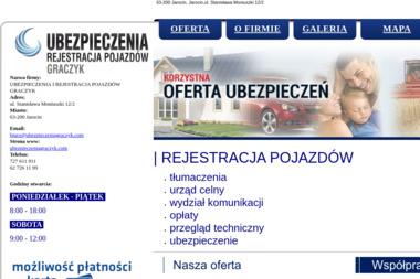 Ubezpieczenia Katarzyna Graczyk - Ubezpieczenie firmy Jarocin