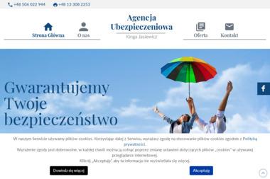 Agencja Ubezpieczeniowa Kinga Jasiewicz - Ubezpieczenia Działalności Gospodarczej Jasło