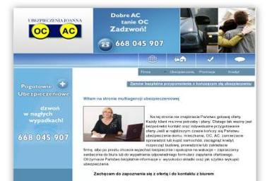 Ubezpieczenia Joanna Sak - Ubezpieczenie firmy Olsztyn
