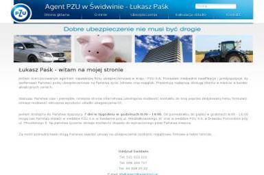 Agent ubezpieczeniowy - Łukasz Paśk - Ubezpieczenie samochodu Świdwin