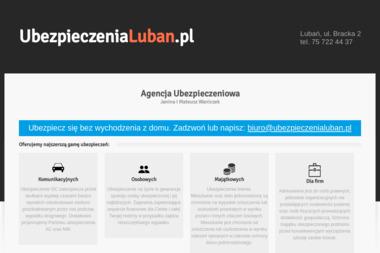 Agencja Ubezpieczeniowa Janina i Bogusław Waniczek - Ubezpieczenie samochodu Lubań