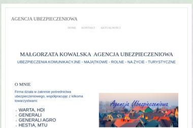 Agencja Ubezpieczeniowa Małgorzata Kowalska - Ubezpieczenia Myślibórz
