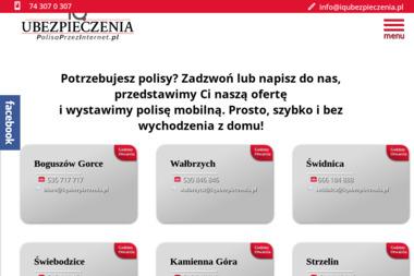 Zwolak Jaromir Ubezpieczenia - Ubezpieczenia Komunikacyjne Świdnica