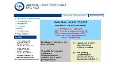 Agencja Ubezpieczeniowa PZU S.A. Maria Noak - Ubezpieczenie samochodu Stęszew