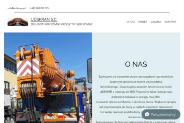 UDS Kran Zbigniew Skryjomski Krzysztof Skryjomski. Usługi dźwigowe - Murowanie ścian Ząbkowice Śląskie