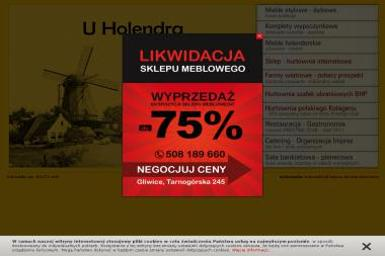 U Holendra Piotr Flak - Meble na wymiar Gliwice
