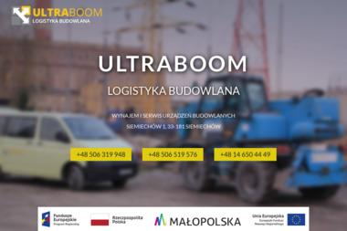 Ultra Boom Logistyka Budowlana - Wypożyczalnia Rusztowań Siemiechów