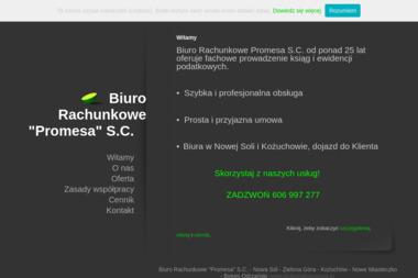 Biuro Rachunkowe Promesa s.c. Biuro rachunkowe, księgowa, rozliczenia vat - Usługi finansowe Nowa Sól