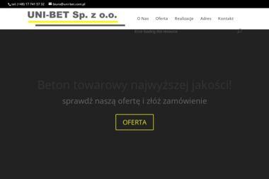Uni Bet Sp. z o.o. - Podjazd z Betonu Rudna Mała