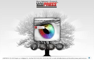 Biuro Ogłoszeń i Promocji Unipress Marek Jakimowicz - Usługi Marketingowe Słupsk
