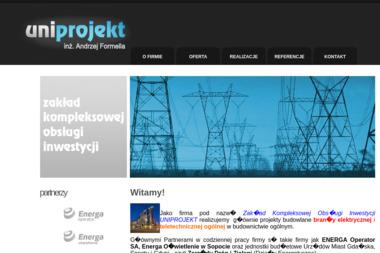 Zakład Kompleksowej Obsługi Inwestycji Uniprojekt Inż Formella A - Architekt Kosakowo