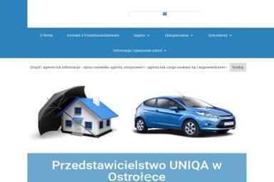 UNIQA Ostrołęka - Ubezpieczenia na życie Ostrołęka