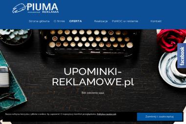 Piuma Reklama. Artykuły reklamowe - Kosze Upominkowe Opole