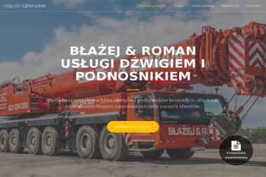 Kasperski Błażej Usługi Dźwigiem i Podnośnikami Koszowymi - Alpinizm Przemysłowy Luboń