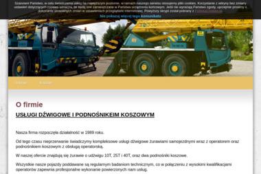Usługi Dźwigowe do 25 ton i Podnośnikiem Koszowym - Maszyny Budowlane Używane Malbork