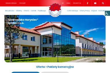 Zespół Uzdrowisko Horyniec - Hotel i Spa Horyniec-Zdrój