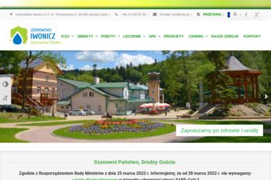 Uzdrowiskowy Zakład Przyrodoleczniczy-Zakład Rehabilitacji Leczniczej - Spa Wellness Iwonicz-Zdrój