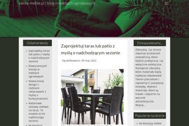 Vente Meble - Meble na wymiar Zamość
