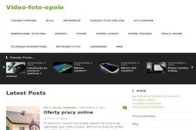 Video-Foto-Opole Robert Cieśla Tech-Com - Fotografowanie Opole