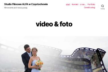 Alfa. Filmowanie - Kamerzysta Częstochowa