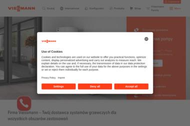 BIG LESZKO - Salon Firmowy Viessmann - Kolektory słoneczne Konradowa