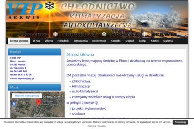 VIP - chłodnictwo, klimatyzacja, autoklimatyzacja - Klimatyzacja Samochodowa Rumia