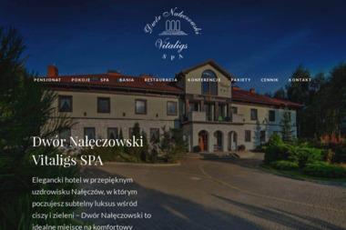 Dwór Nałęczowski Vitaligs Spa - Dietetyk Nałęczów